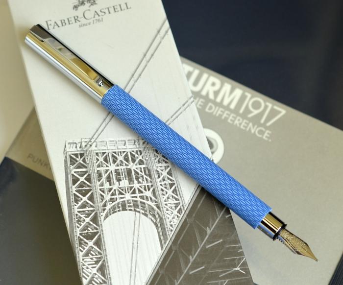 Stilou Ambition OpArt Blue Lagoon Faber-Castell 2