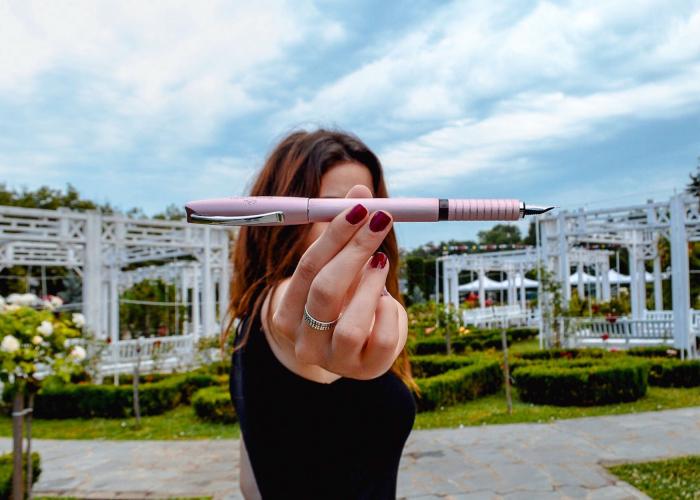Stilou Essentio Aluminium Rose Faber-Castell [3]
