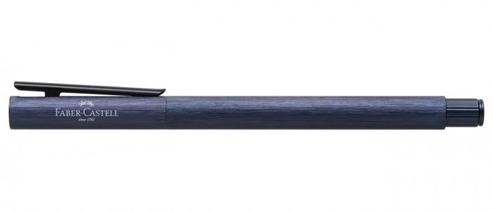 Stilou Neo Slim Aluminium Albastru Faber-Castell [1]