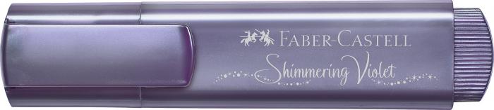 Texliner 46 Highlighter Metallic Shimmering Violet Faber-Castell [3]