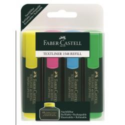 Set 4 culori Textmarker 1548  Faber-Castell0