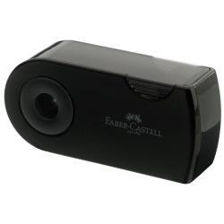 Ascutitoare Plastic Dubla Sleeve negru Faber-Castell [1]