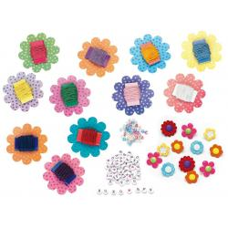Set Creativity Bratari Florale Faber-Castell1