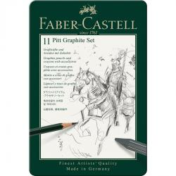 Set Pitt Monochrome Grafit 11 Buc Faber-Castell [0]
