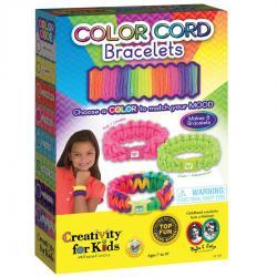 Set Creativity Bratari Snururi Colorate Faber-Castell0