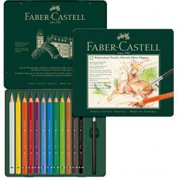 Creioane Colorate 12 Culori A.Durer Magnus Cutie Metal Faber-Castell [0]