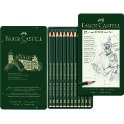 Set Arta Creion Grafit Castell 9000 Faber-Castell0