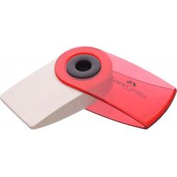 Radiera Creion Sleeve Mini Culori Transparente Faber-Castell [2]