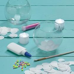 Set Craftivity Globuri Pentru Lumanari Faber-Castell [1]