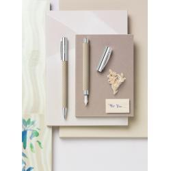 Stilou Ambition Opart White Sand Faber-Castell4