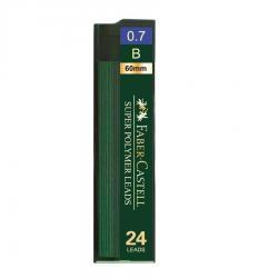 Mina Creion 0.7mm 24 Buc/Etui Super Hi-Polymer Faber-Castell0