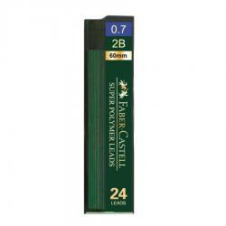 Mina Creion 0.7mm 24 Buc/Etui Super Hi-Polymer Faber-Castell1