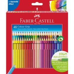Creioane Colorate Grip 2001 48 Culori Faber-Castell0