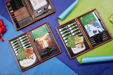 Acuarele 12 Culori x 12 ml, cutie din lemn, 20 buc/set Derwent Academy [7]