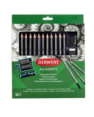 Set portabil pentru schite, 16 buc/ set Derwent Academy [0]