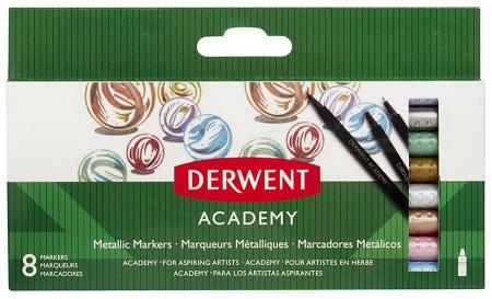 Markere Metalice 8 buc. DERWENT ACADEMY [0]