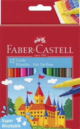 Carioci Super Washable 12 culori Faber-Castell0