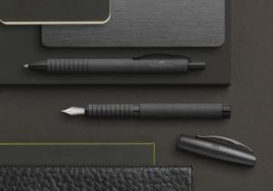Stilou Essentio Aluminium Black Faber-Castell3