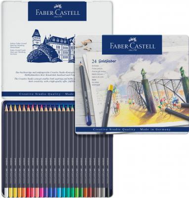 CREIOANE COLORATE 24 CULORI GOLDFABER CUTIE METAL Faber-Castell2