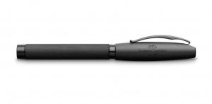 Stilou Essentio Aluminium Black Faber-Castell1