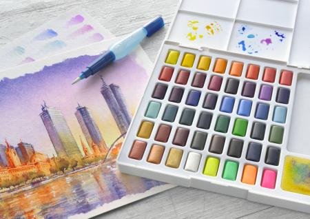 Acuarele 48 Culori Creative Studio Faber-Castell1
