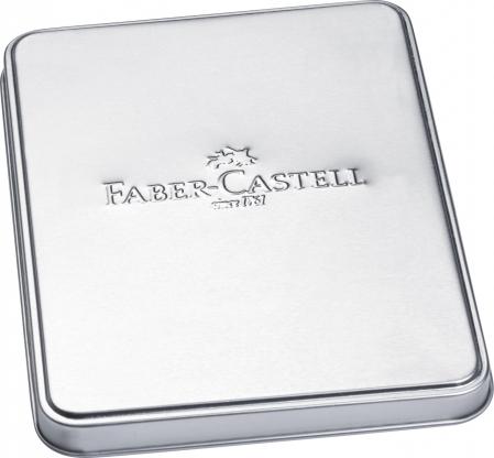 Set Stilou F + Pix Ambition Rhombus in Cutie Metal Faber-Castell3