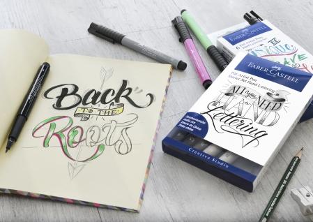 Pitt Artist Pen Set Caligrafic 8 Buc Faber-Castell [1]