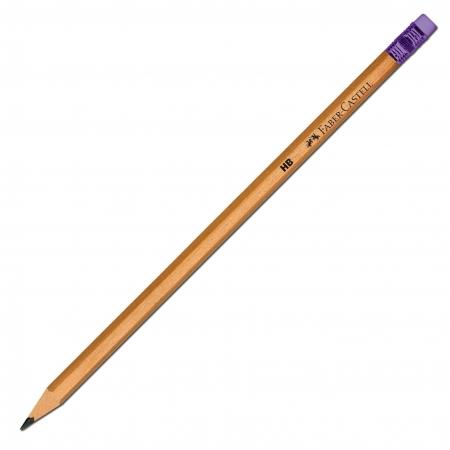 Creion Grafit HB cu Guma Natur Faber-Castell [2]