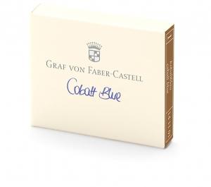 Cartuse Cerneala Mici Cobalt Blue Graf von Faber Castell set 6 buc0