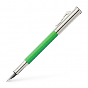 Stilou Guilloche Viper Green Graf Von Faber-Castell0