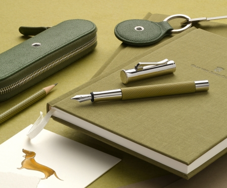 Agenda A5 Olive Green Graf Von Faber-Castell1