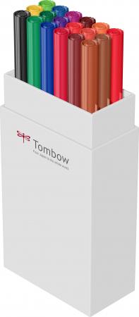 ABT Dual Brush Pen Primary Colours - set 18 culori Tombow6