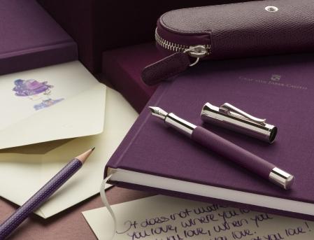 Agenda A5 Violet Blue Graf Von Faber-Castell [1]