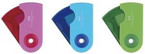 Ascutitoare Plastic Simpla Sleeve-Mini Pastel Faber-Castell3