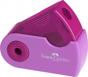 Ascutitoare Plastic Simpla Sleeve-Mini Pastel Faber-Castell1