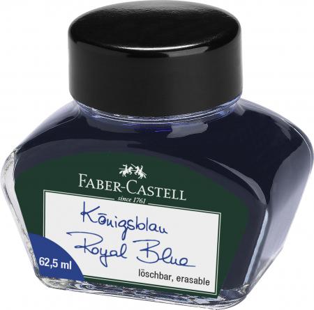 Calimara Cerneala Albastra 62.50 ml Faber-Castell0