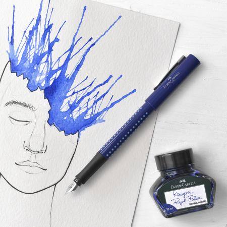 Calimara Cerneala Albastra 62.50 ml Faber-Castell1