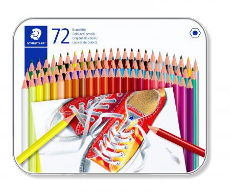 Creioane Colorate 72 culori Staedtler [0]