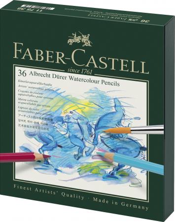 Creioane Colorate Acuarela 36 Culori Studio Durer Faber-Castell [0]