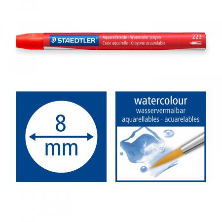 Creioane Colorate Karat Aquarelle 24 buc. Staedter5