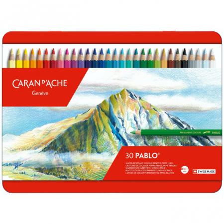 CREIOANE COLORATE PABLO 30 culori Caran d'Ache [0]