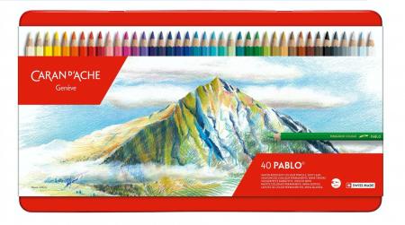 CREIOANE COLORATE PABLO 40 culori Caran d'Ache [0]