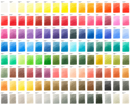 Creioane ColoratePolychromos 120 Culori, Faber-Castell [2]