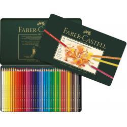Creioane Colorate Polychromos 36 Culori Cutie Metal Faber-Castell2