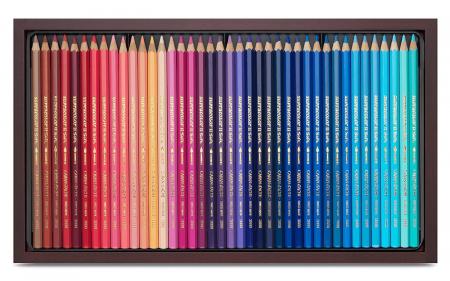 Creioane Colorate SUPRACOLOR 120 culori Wooden Box Caran d'Ache1