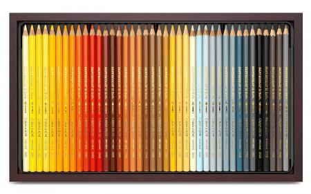 Creioane Colorate SUPRACOLOR 120 culori Wooden Box Caran d'Ache0
