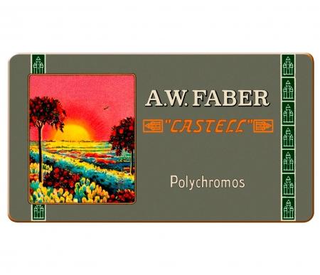 Creioane Colorate 12 Culori, Aniversare 111 Ani Polychromos Faber-Castell1