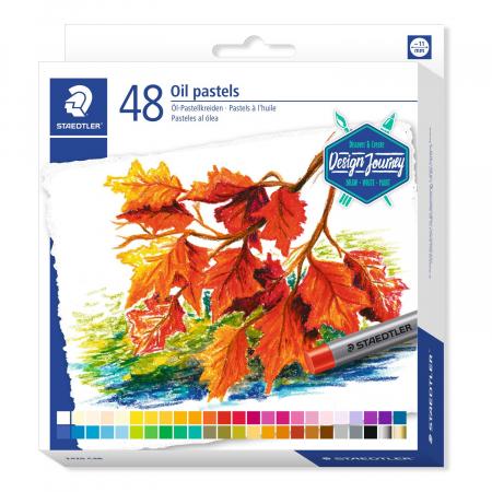 Creioane Karat Ulei Pastel 48 cul/set Staedtler [0]