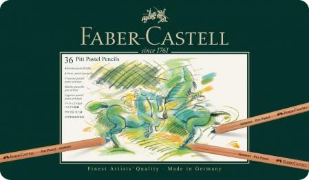 Creioane Pastel Pitt 36 Culori Faber-Castell1