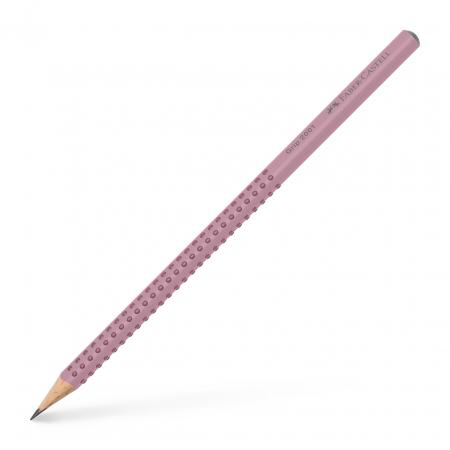 Creion Grafit B Grip 2001 Rose Faber-Castell [0]